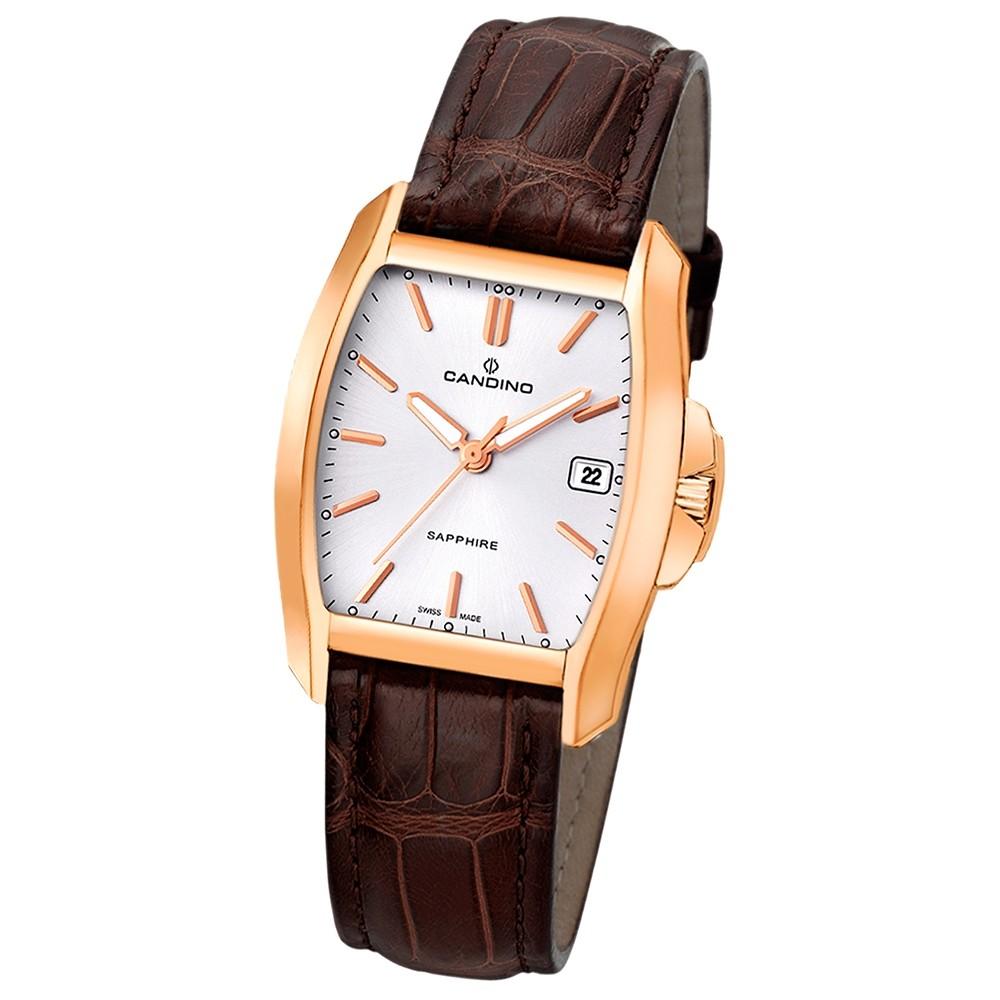 Candino Herren-Armbanduhr Tradition analog Quarz Leder UC4399/4