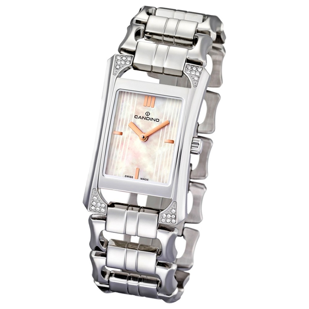 CANDINO Damen-Uhr - Elegance Flair - Analog - Quarz - Edelstahl - UC4427/1