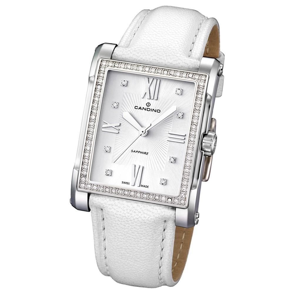 Candino Damen-Armbanduhr Flair analog Quarz Leder UC4437/4