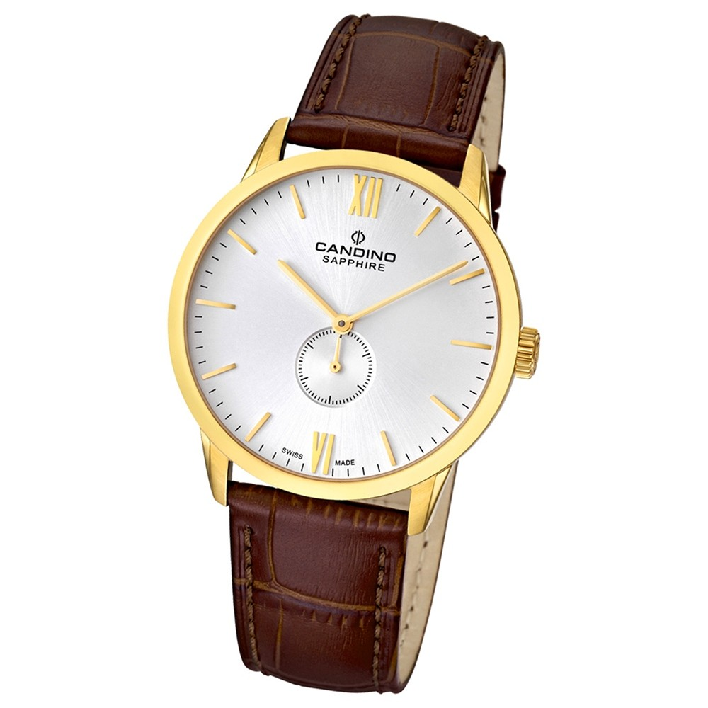 Candino Damen-Armbanduhr Timeless analog Quarz Leder UC4471/2