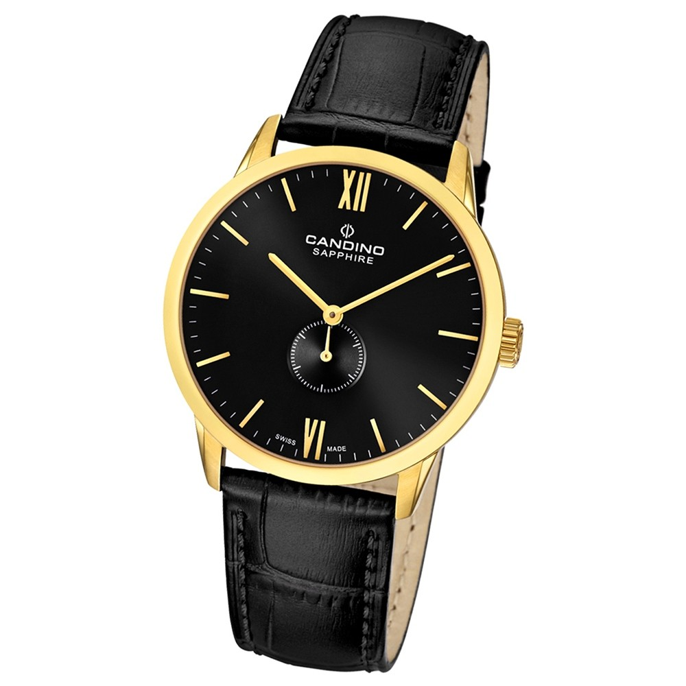 Candino Damen-Armbanduhr Timeless analog Quarz Leder UC4471/4