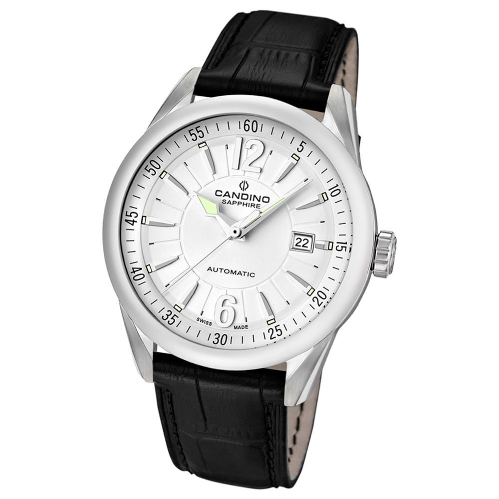 Candino Herren-Armbanduhr After Work analog Automatik Leder UC4479/1