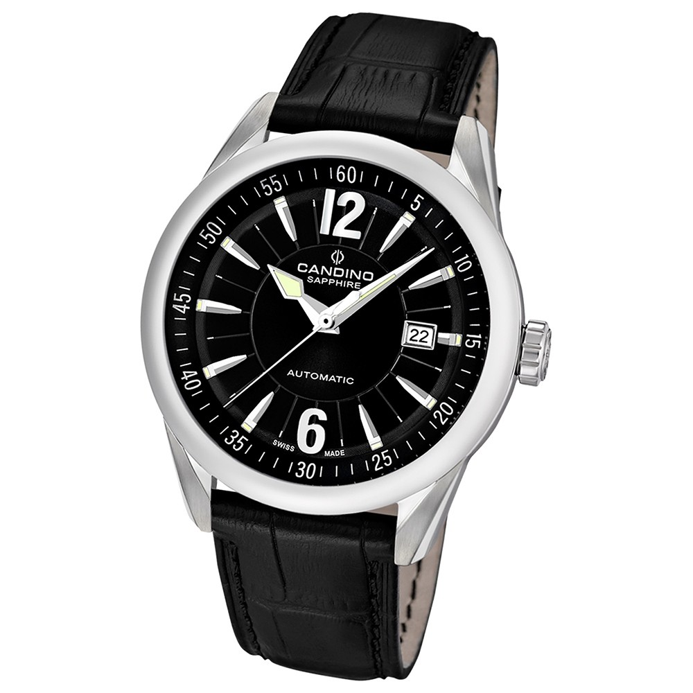 Candino Herren-Armbanduhr After Work analog Automatik Leder UC4479/3