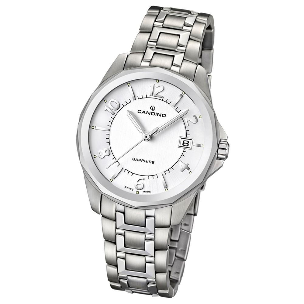 Candino Herren-Armbanduhr Timeless analog Quarz Edelstahl 316 L UC4491/2