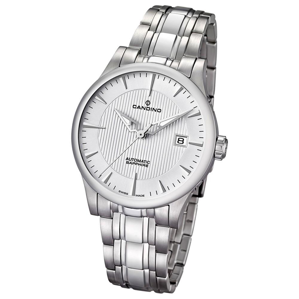 Candino Herren-Armbanduhr Timeless analog Automatik Edelstahl 316 L UC4495/3