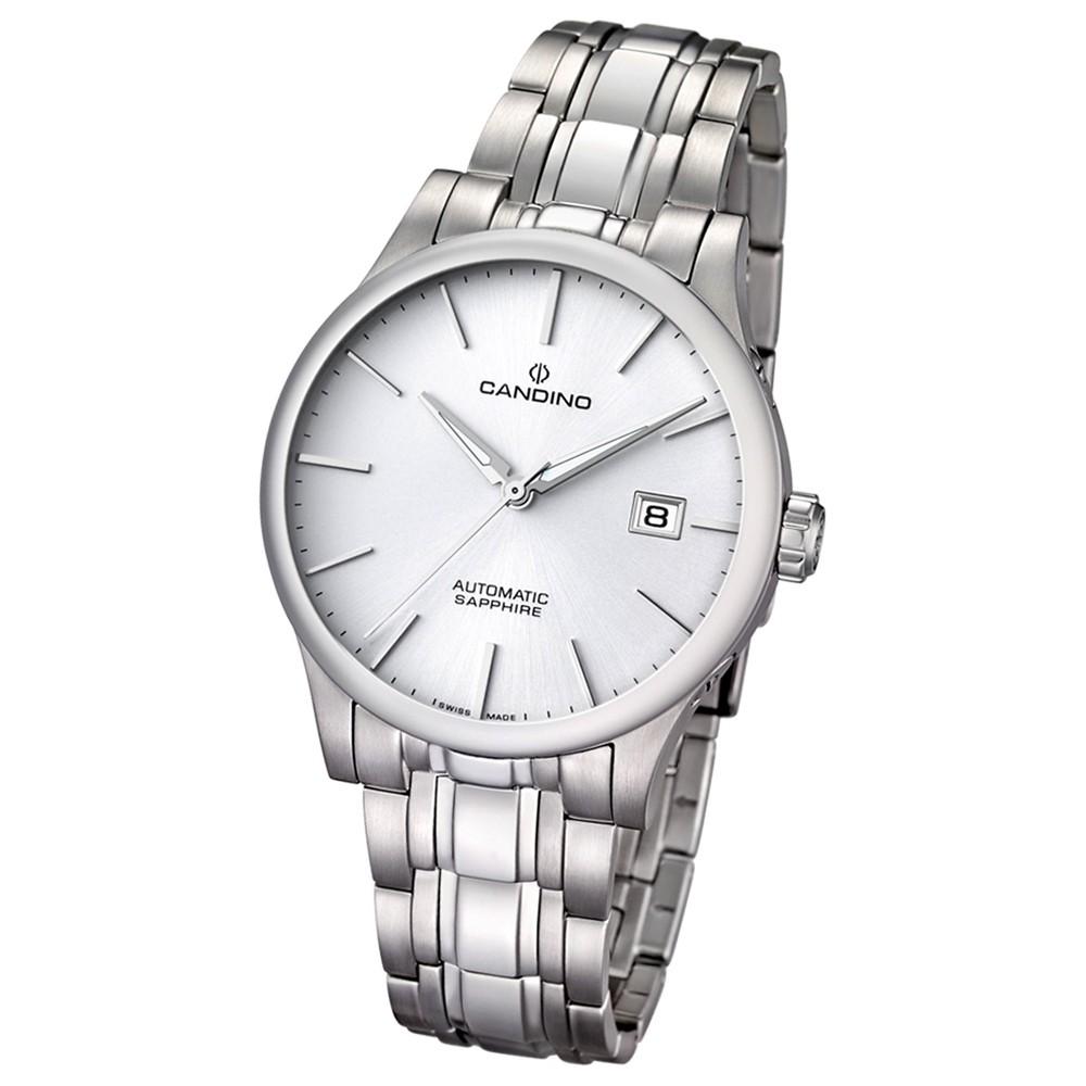 Candino Herren-Armbanduhr Automatik Klassisch C4495/5 Edelstahl silber UC4495/5