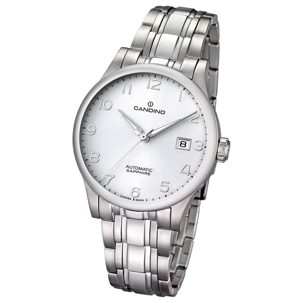 Candino Herren-Armbanduhr Automatik Klassisch C4495/6 Edelstahl silber UC4495/6