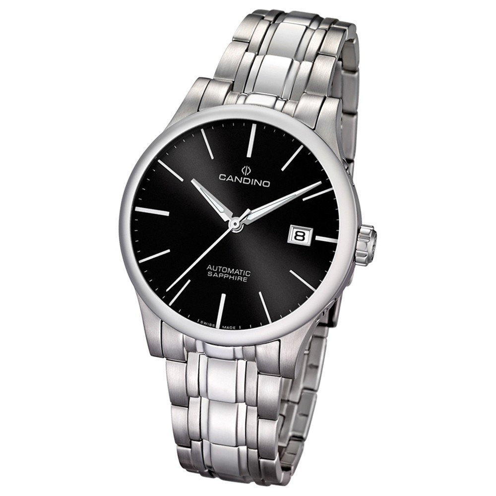 Candino Herren-Armbanduhr Automatik Klassisch C4495/7 Edelstahl silber UC4495/7