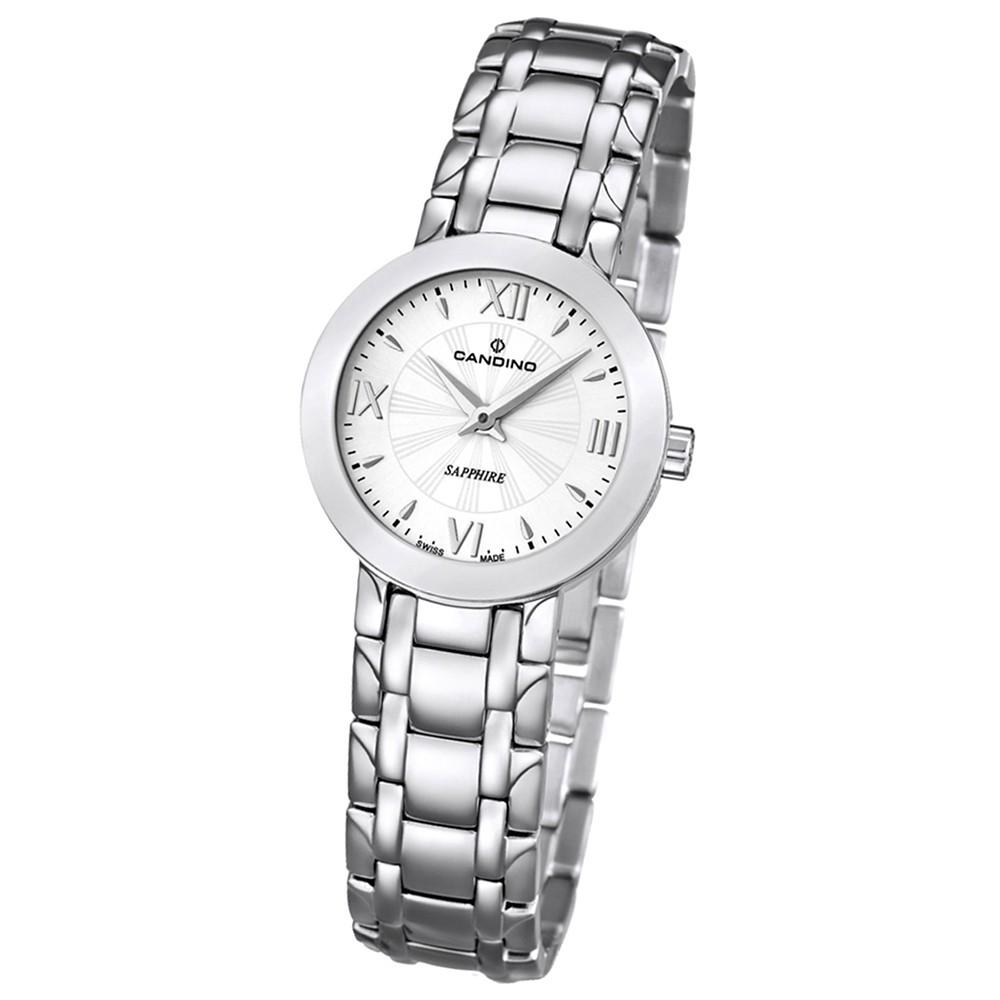 Candino Damen-Armbanduhr Timeless analog Quarz Edelstahl 316 L UC4500/1