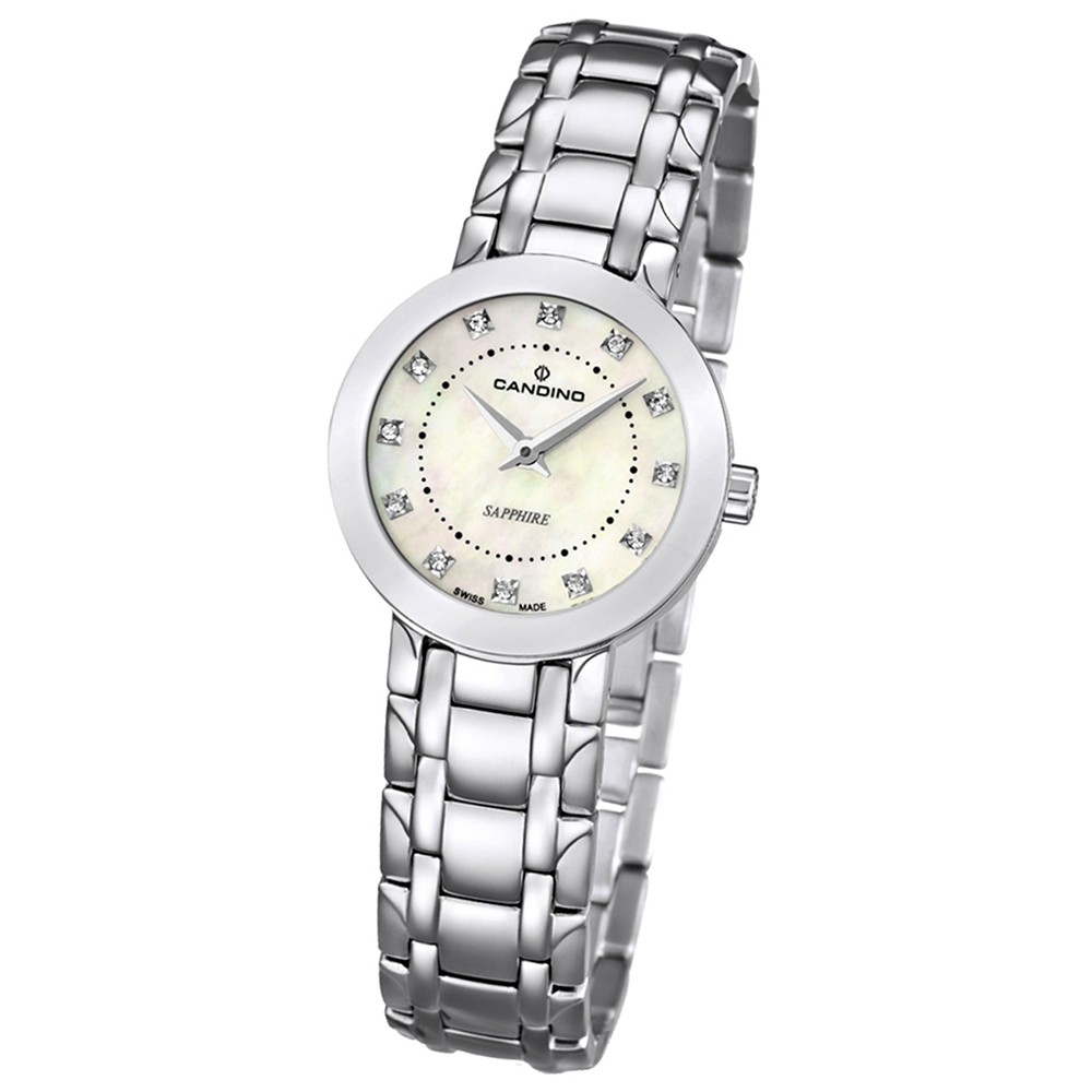 Candino Damen-Armbanduhr Timeless analog Quarz Edelstahl 316 L UC4500/3