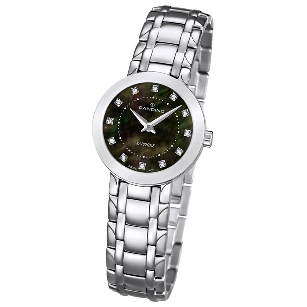 Candino Damen-Armbanduhr Timeless analog Quarz Edelstahl 316 L UC4500/4
