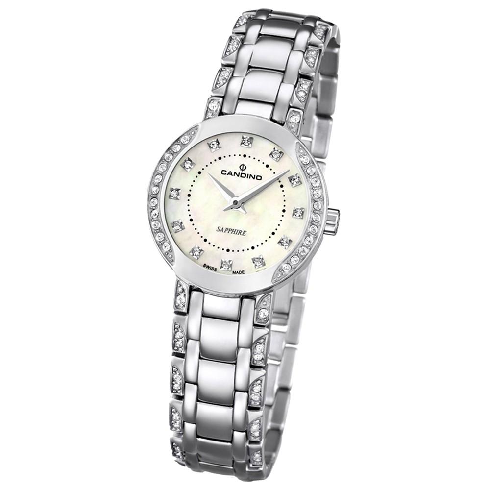 Candino Damen-Armbanduhr Timeless analog Quarz Edelstahl UC4502/3