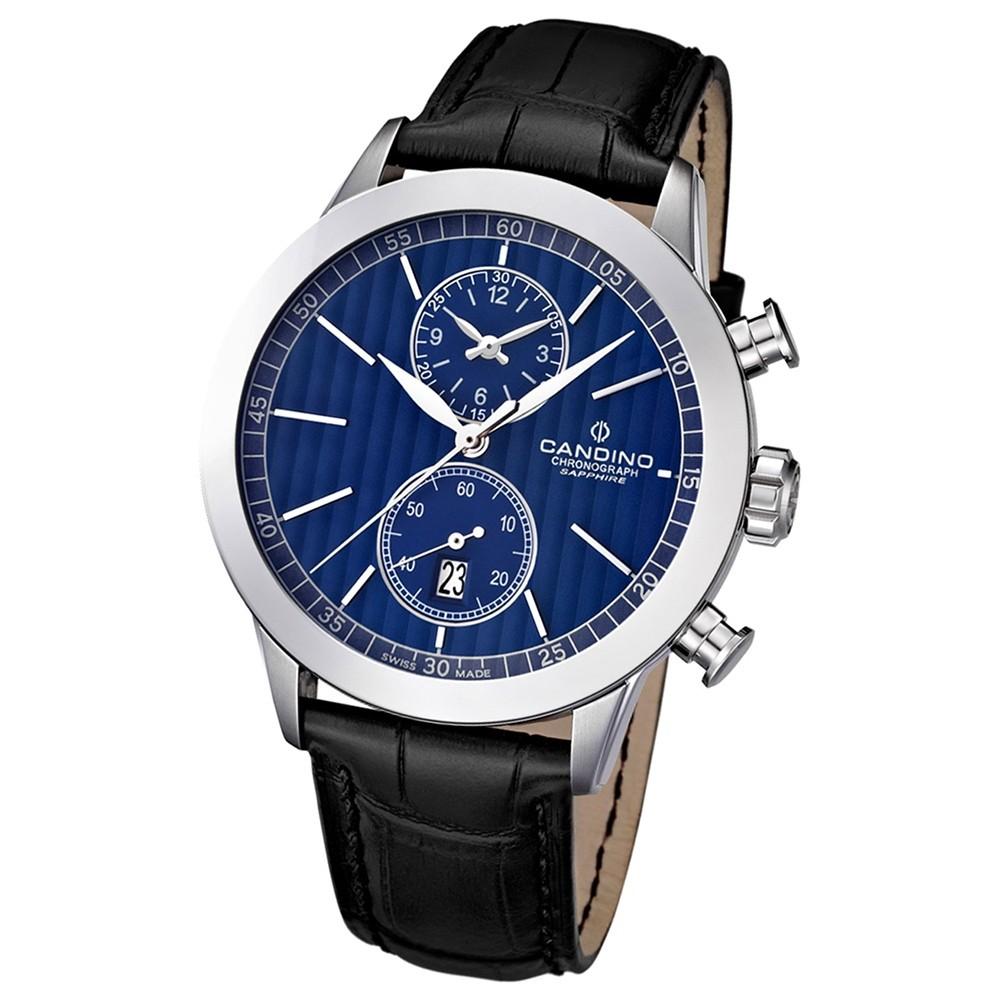 Candino Herren-Armbanduhr Athletic Chic Chronograph Quarz Leder UC4505/3