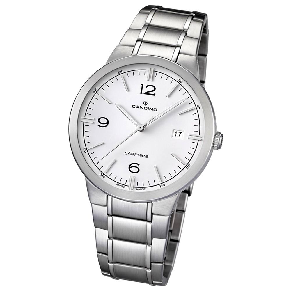 Candino Herren-Armbanduhr Timeless analog Quarz Edelstahl 316 L UC4510/1