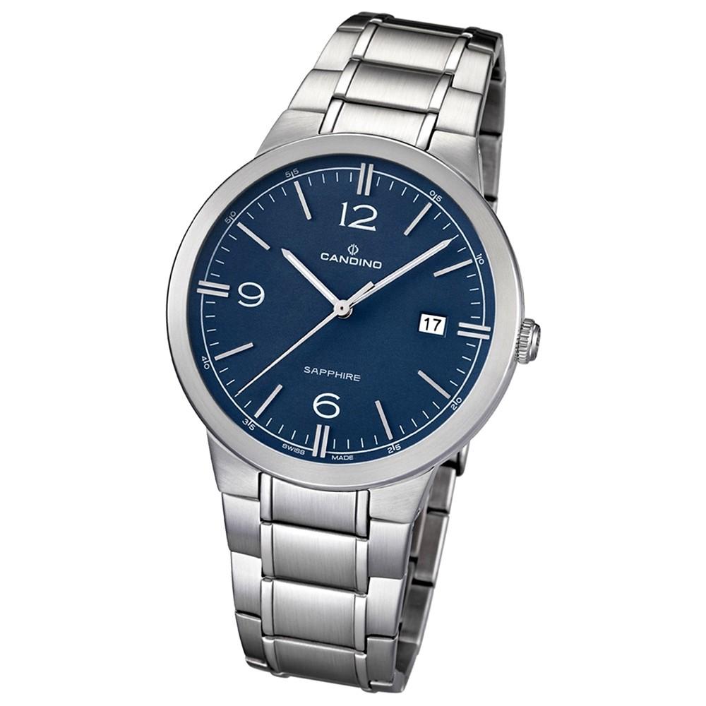 Candino Herren-Armbanduhr Timeless analog Quarz Edelstahl 316 L UC4510/2