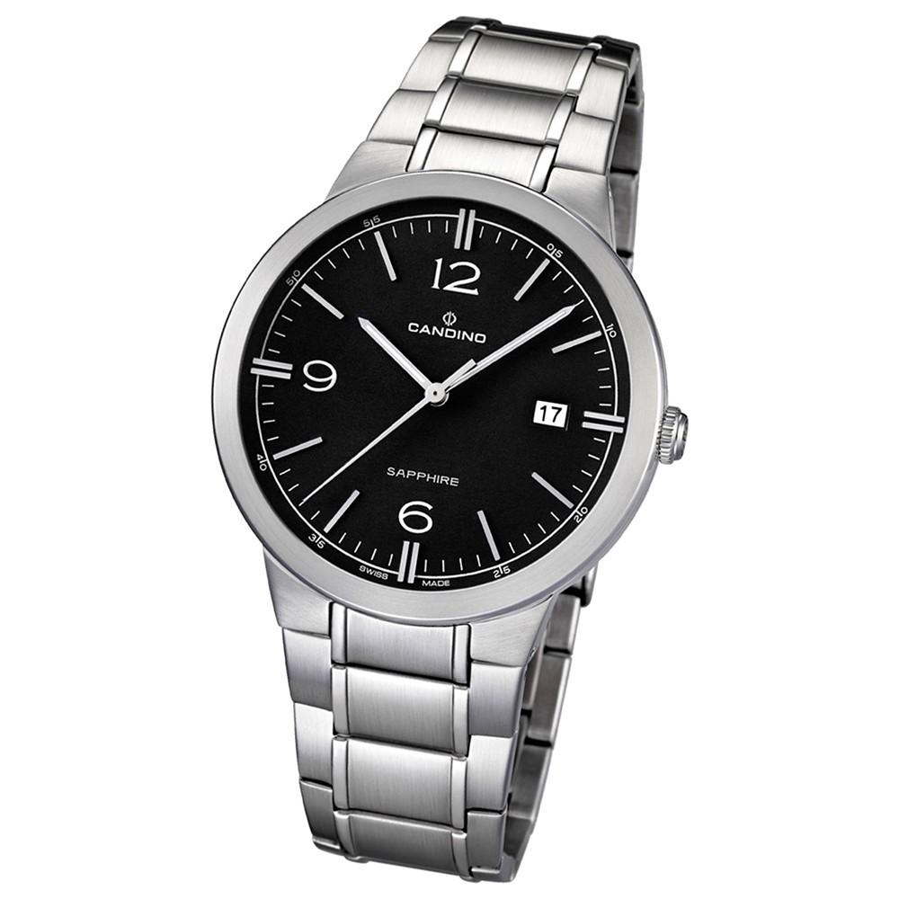 Candino Herren-Armbanduhr Timeless analog Quarz Edelstahl 316 L UC4510/4