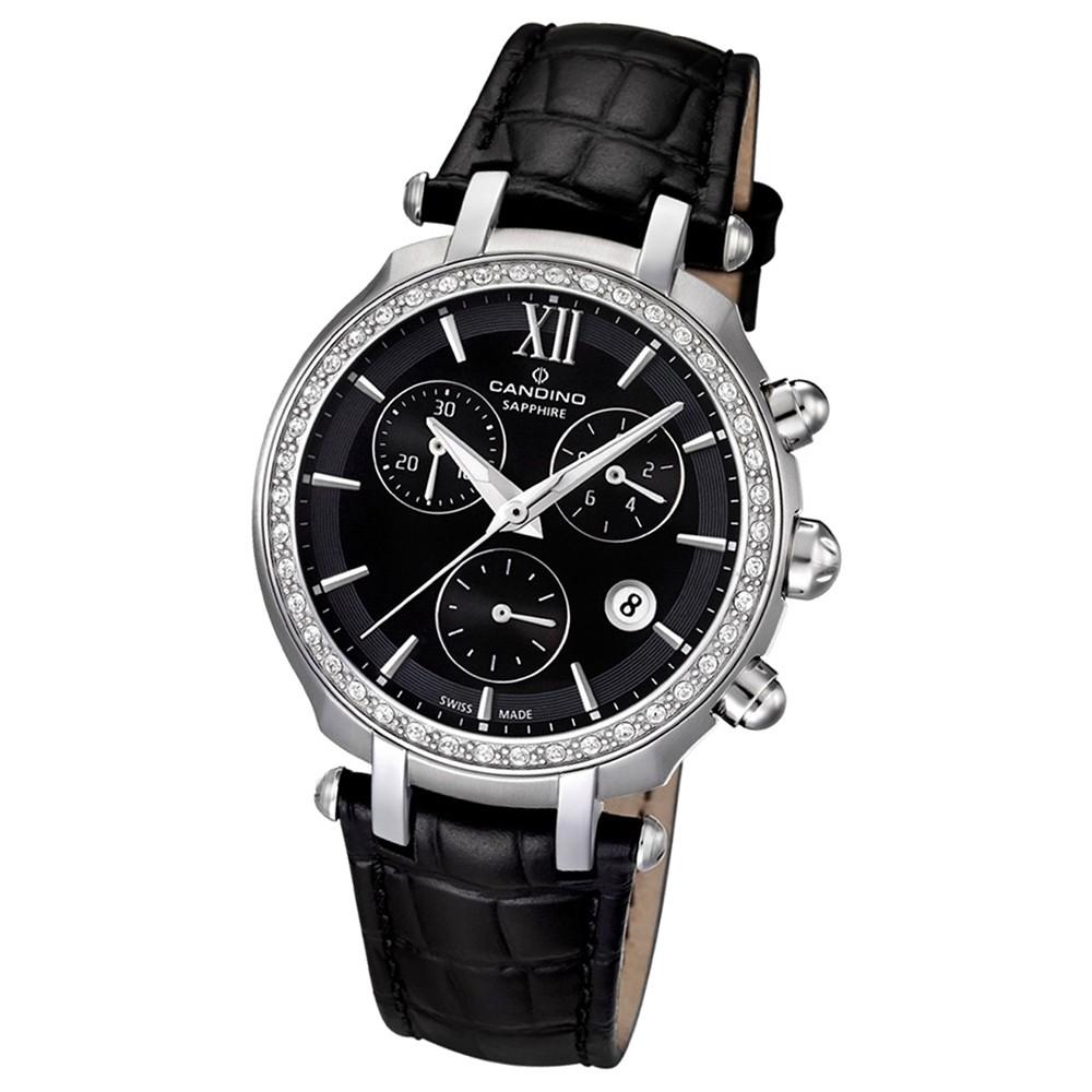 Candino Damen-Armbanduhr Athletic Chic Chronograph Quarz Leder UC4522/2