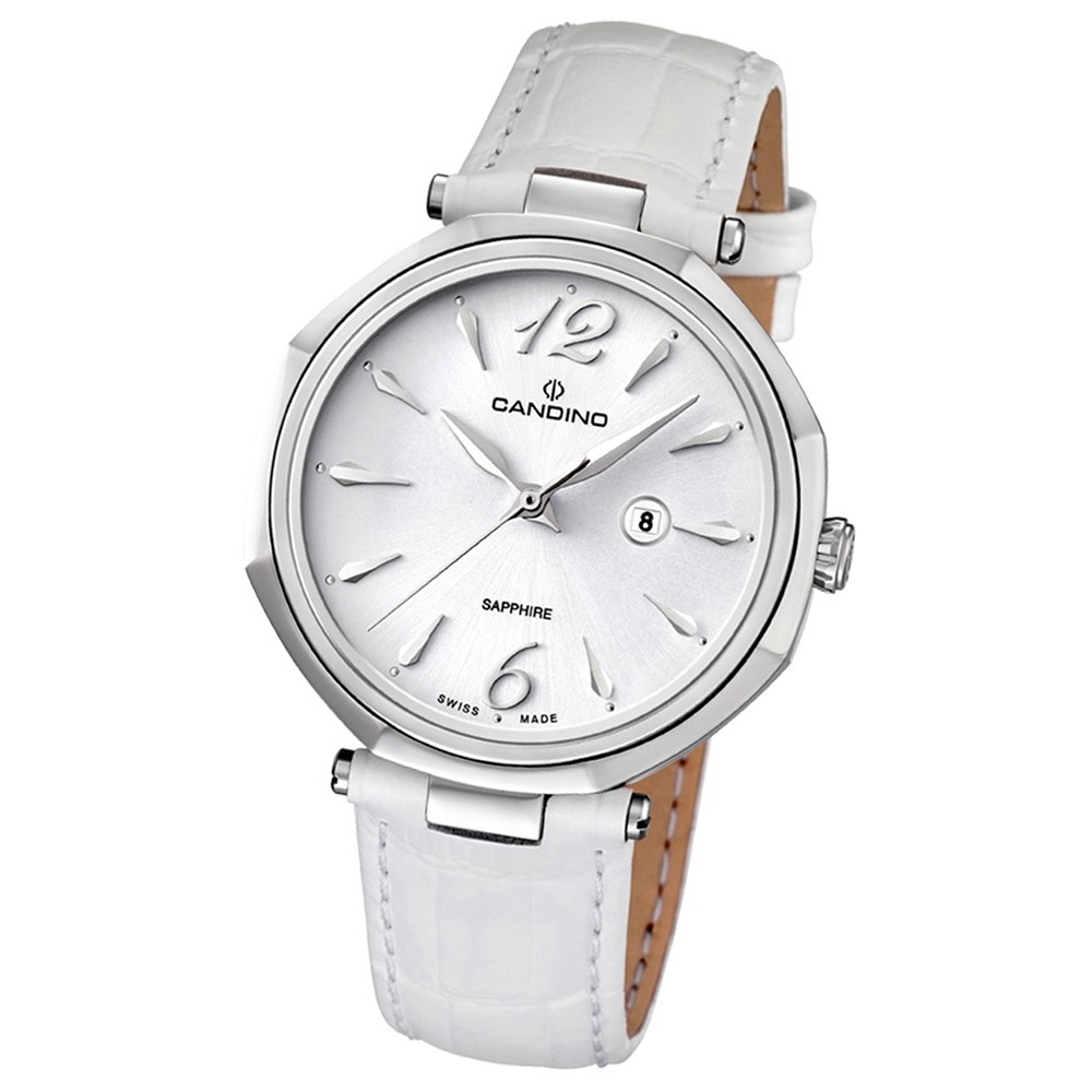 Candino Damen-Armbanduhr D-Light analog Quarz Leder UC4524/1
