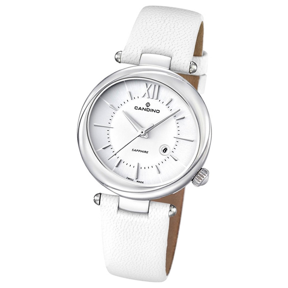 Candino Damen-Armbanduhr D-Light analog Quarz Leder UC4531/1