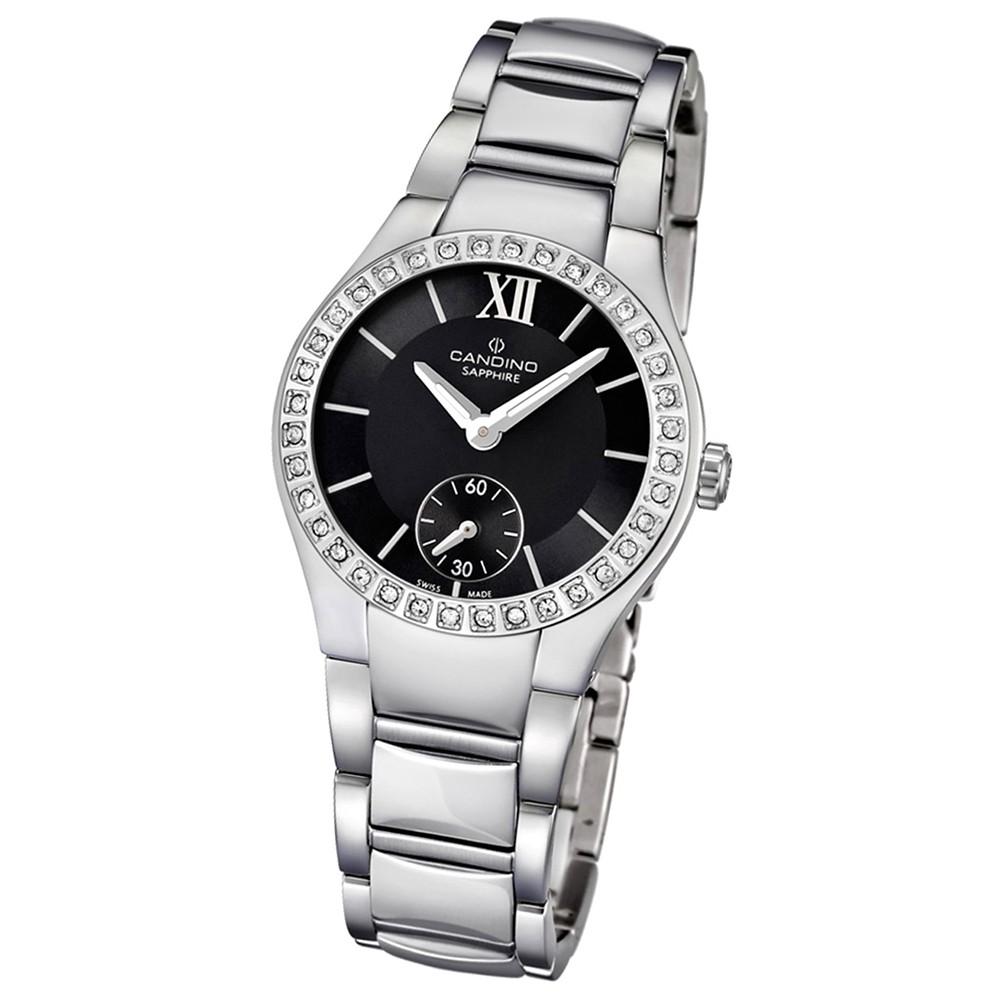 Candino Damen-Armbanduhr Timeless analog Quarz Edelstahl UC4537/2