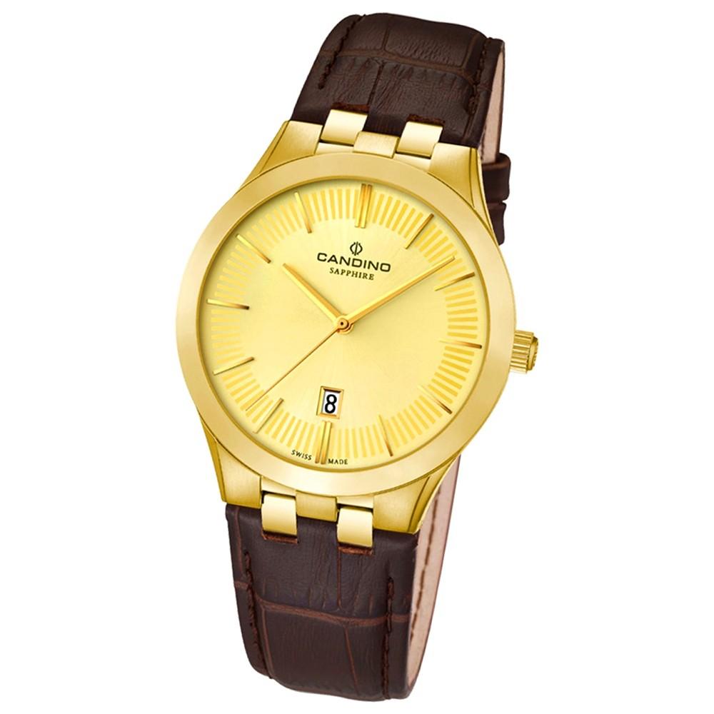 Candino Damen-Armbanduhr Timeless analog Quarz Leder UC4546/2