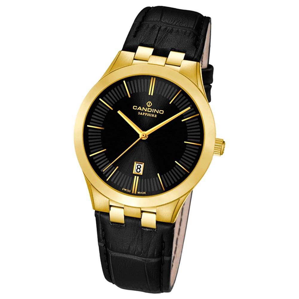 Candino Damen-Armbanduhr Timeless analog Quarz Leder UC4546/3