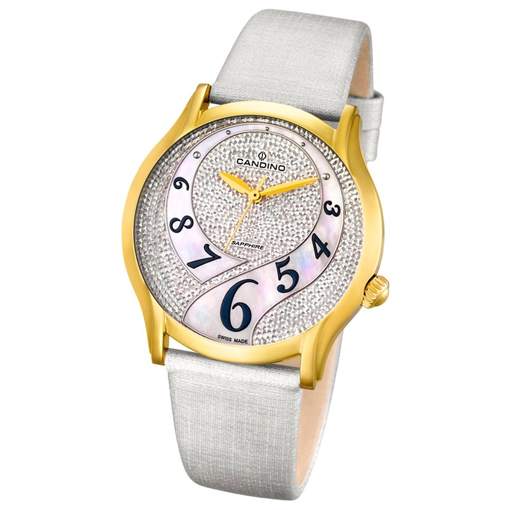 CANDINO Damen-Uhr - Elegance Flair - Analog - Quarz - Leder - UC4552/1
