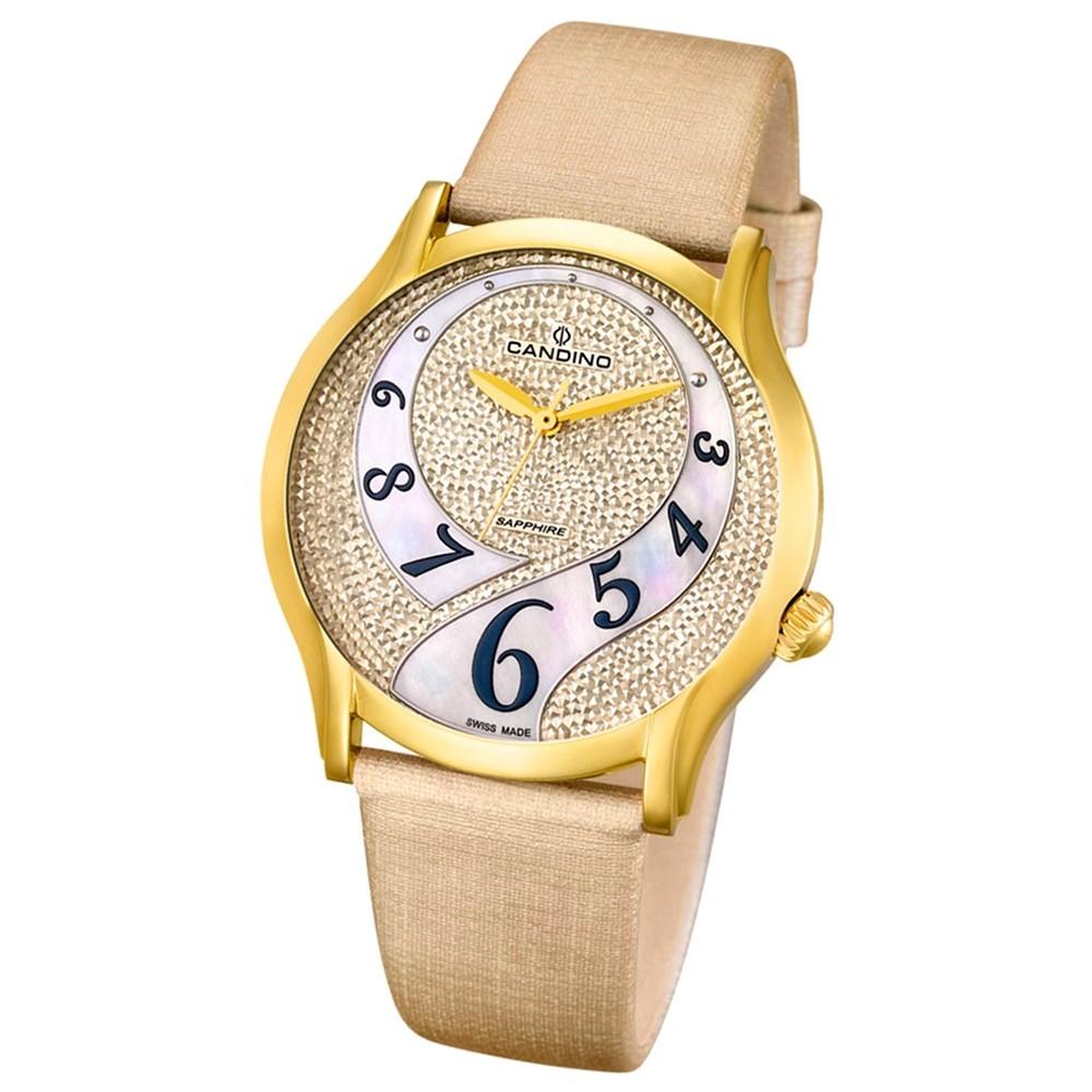 CANDINO Damen-Uhr - Elegance Flair - Analog - Quarz - Leder - UC4552/2