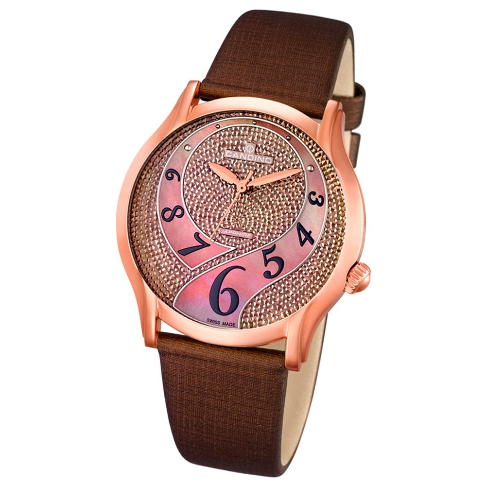 CANDINO Damen-Uhr - Elegance Flair - Analog - Quarz - Leder - UC4553/2