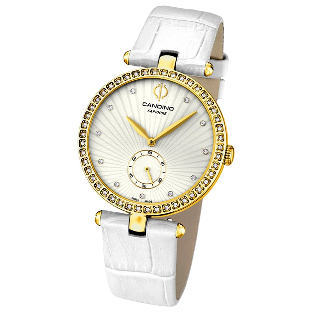 CANDINO Damen-Uhr - Elegance Flair - Analog - Quarz - Leder - UC4564/1