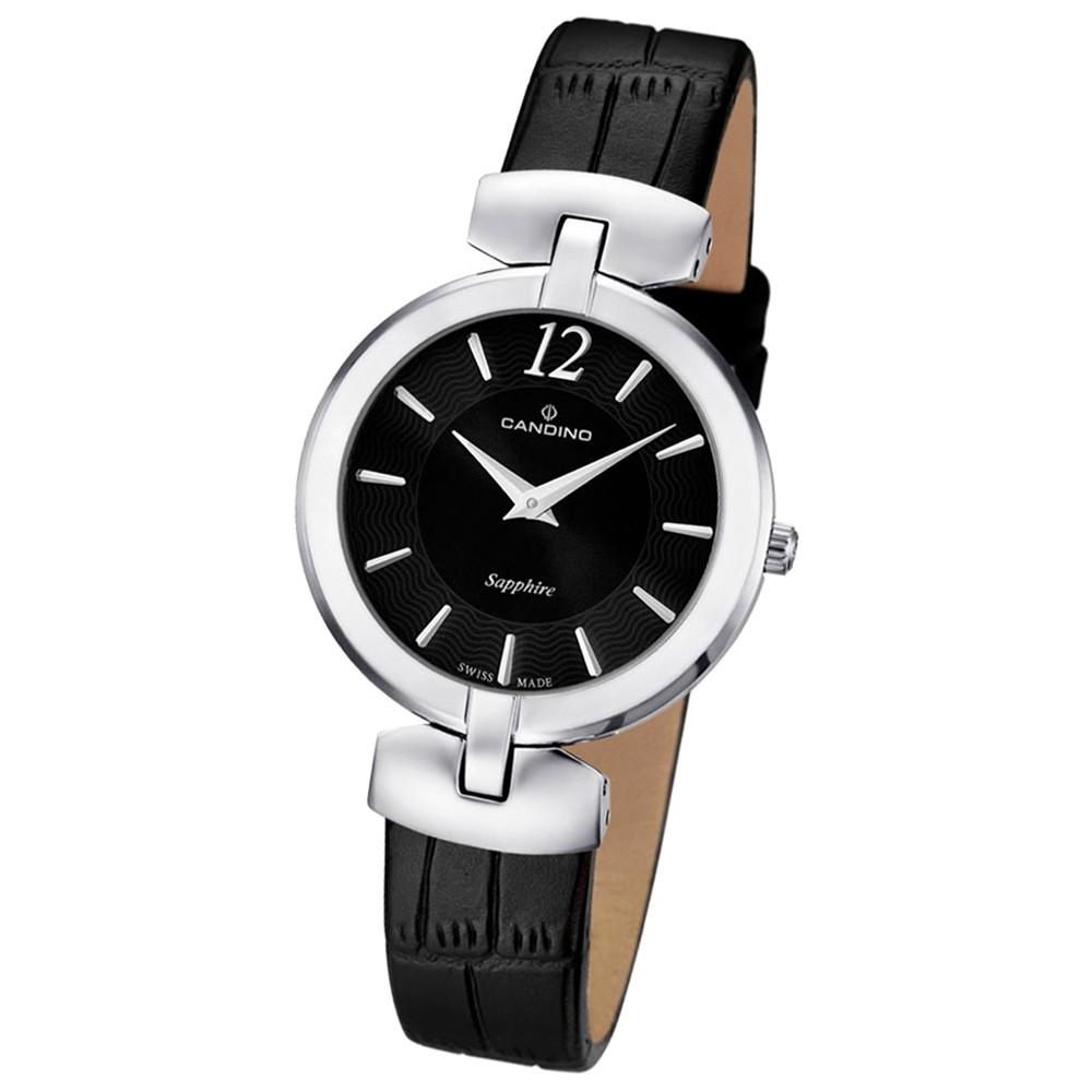 CANDINO Damen-Uhr - Elegance Flair - Analog - Quarz - Leder - UC4566/2
