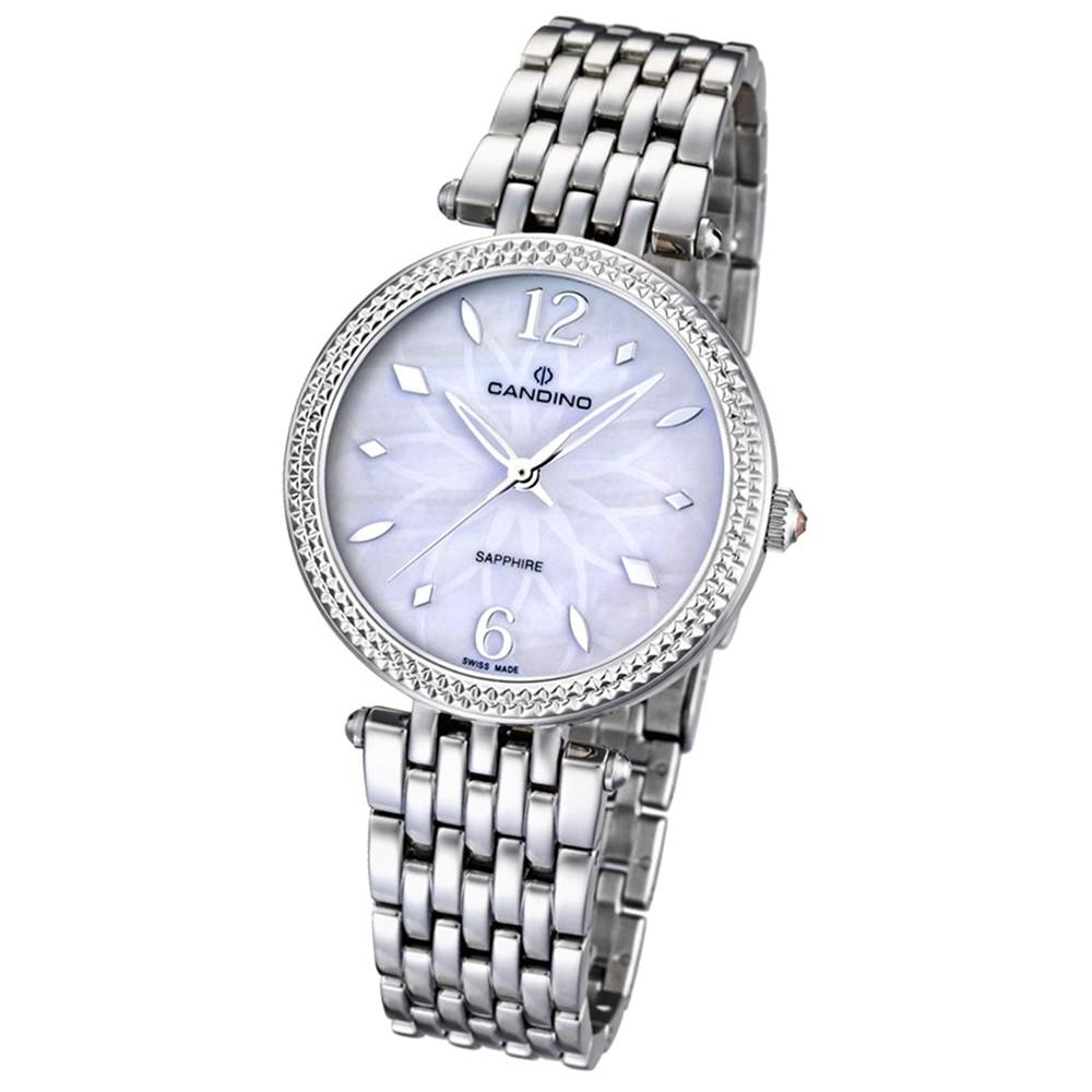 CANDINO Damen-Uhr - Elegance Flair - Analog - Quarz - Edelstahl - UC4568/1