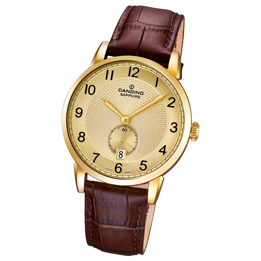 CANDINO Herren-Uhr - Classic Timeless - Analog - Quarz - Leder - UC4592/3