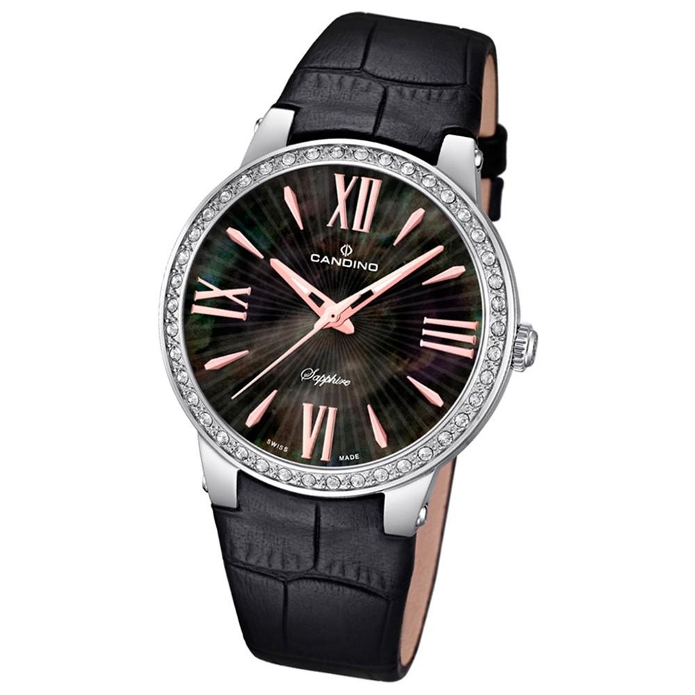 CANDINO Damen-Uhr - Elegance Delight - Analog - Quarz - Leder - UC4597/2