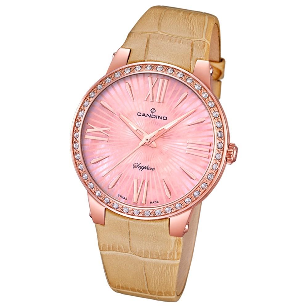 CANDINO Damen-Uhr - Elegance Delight - Analog - Quarz - Leder - UC4598/2