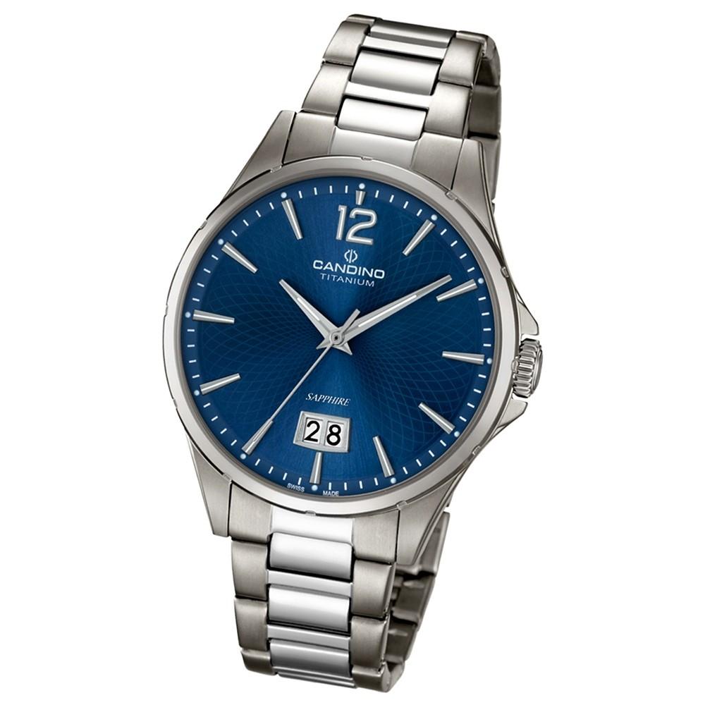 CANDINO Elegante Herren-Armbanduhr Elegance analog Quarz silbergrau UC4607/2