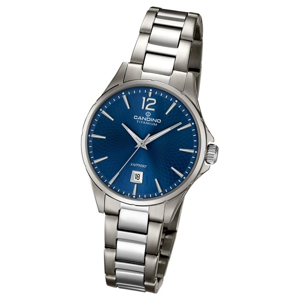 CANDINO Klassische Damen-Armbanduhr Elegance analog Quarz silbergrau UC4608/2
