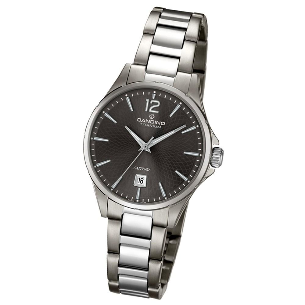 CANDINO Klassische Damen-Armbanduhr Elegance analog Quarz silbergrau UC4608/3