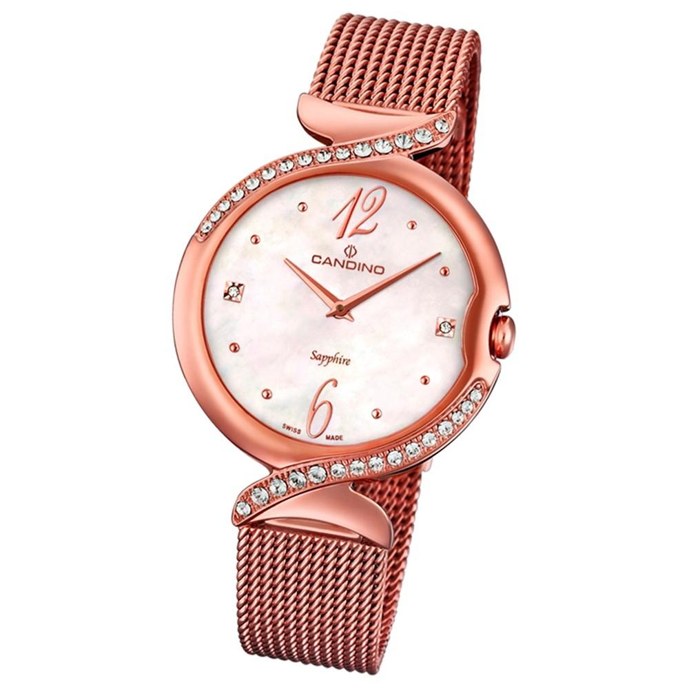 Candino Damen-Uhr Edelstahl roségold C4613/1 Quarz Elegance Flair UC4613/1