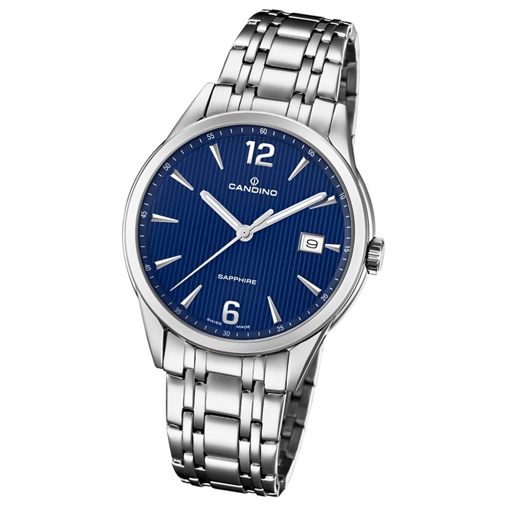 Candino Herren-Armbanduhr Edelstahl silber C4614/3 Quarz Klassisch UC4614/3