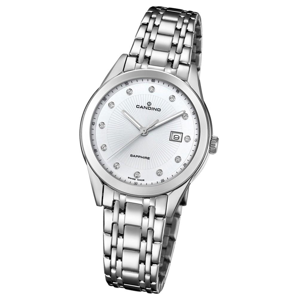 Candino Damen-Armbanduhr Edelstahl silber C4615/3 Quarz Klassisch UC4615/3