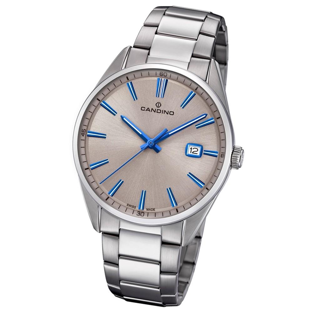Candino Herren-Armbanduhr Edelstahl silber C4621/2 Quarz Klassisch UC4621/2