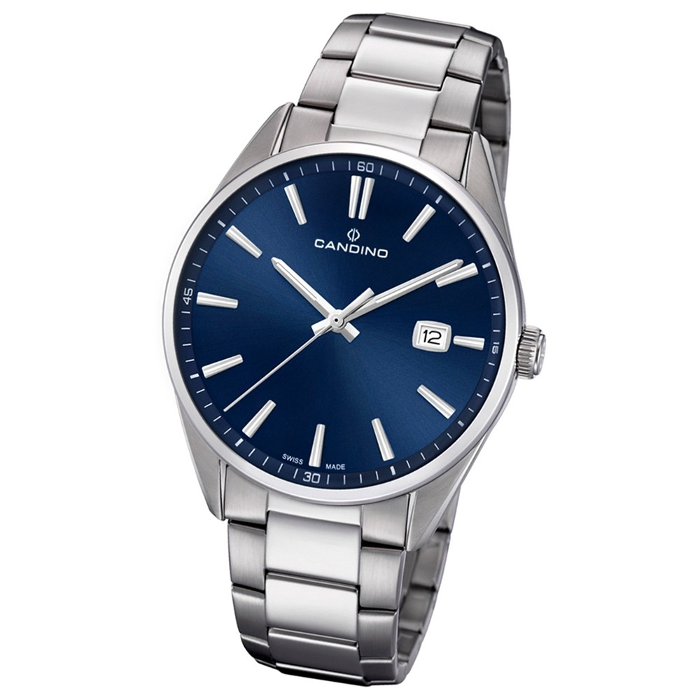 Candino Herren-Armbanduhr Edelstahl silber C4621/3 Quarz Klassisch UC4621/3
