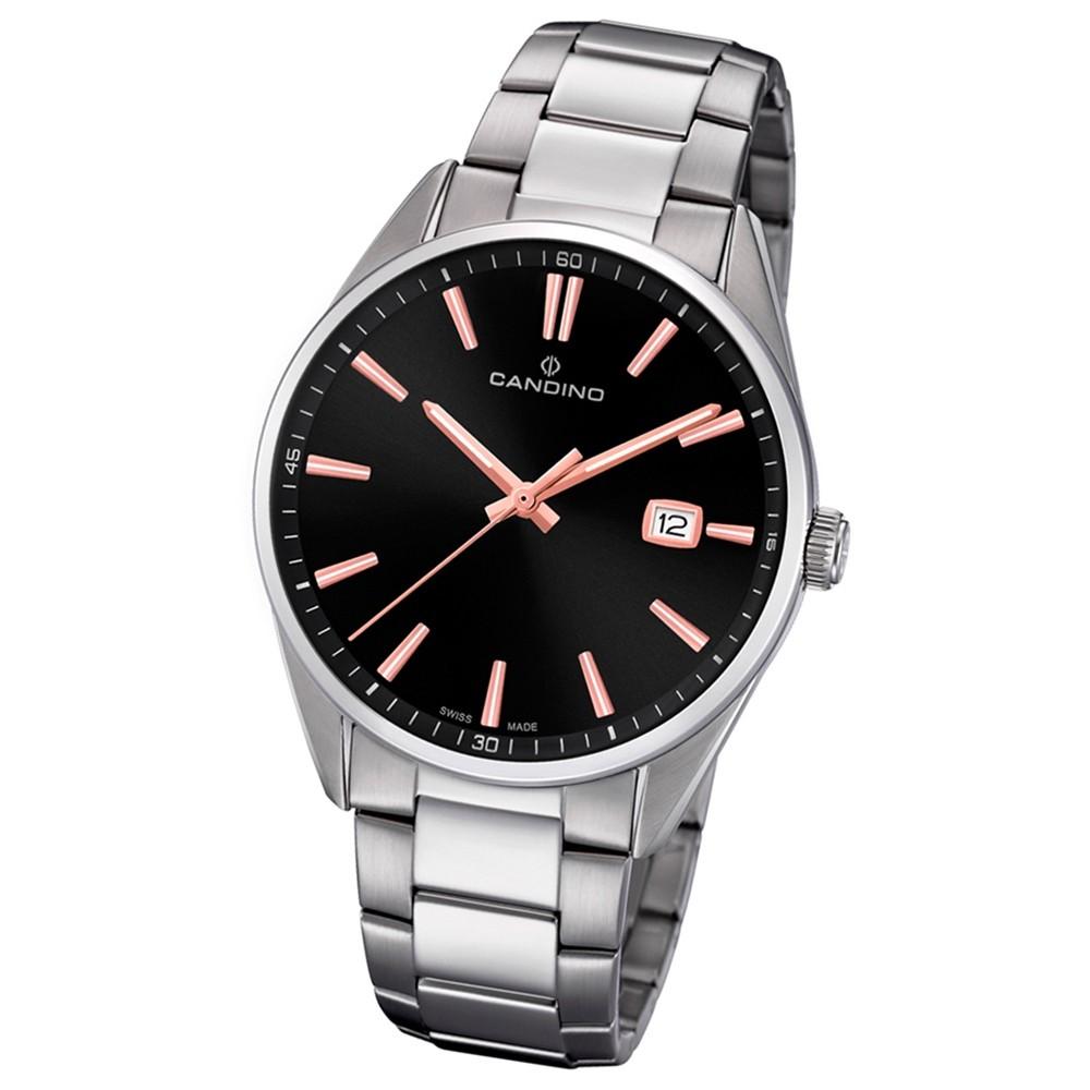 Candino Herren-Armbanduhr Edelstahl silber C4621/4 Quarz Klassisch UC4621/4