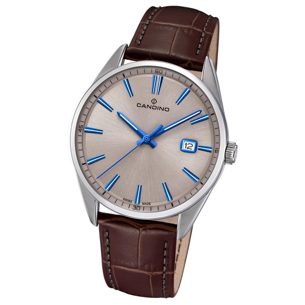 Candino Herren-Armbanduhr Leder braun C4622/2 Quarz Classic Timeless UC4622/2