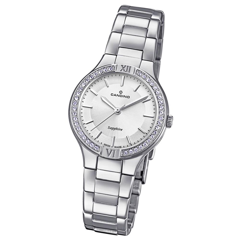Candino Damen-Armbanduhr Edelstahl silber C4626/1 Quarzuhr UC4626/1