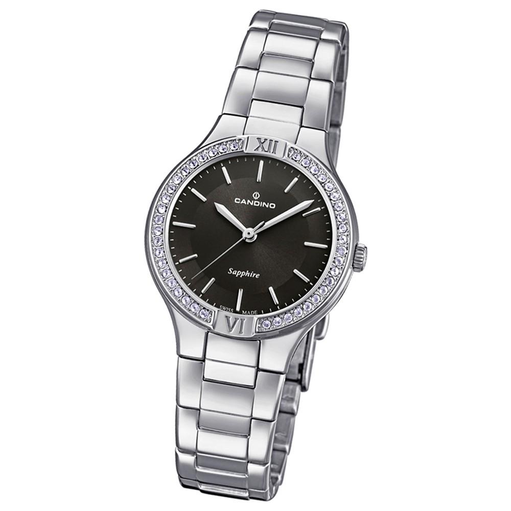 Candino Damen-Armbanduhr Edelstahl silber C4626/2 Quarzuhr UC4626/2