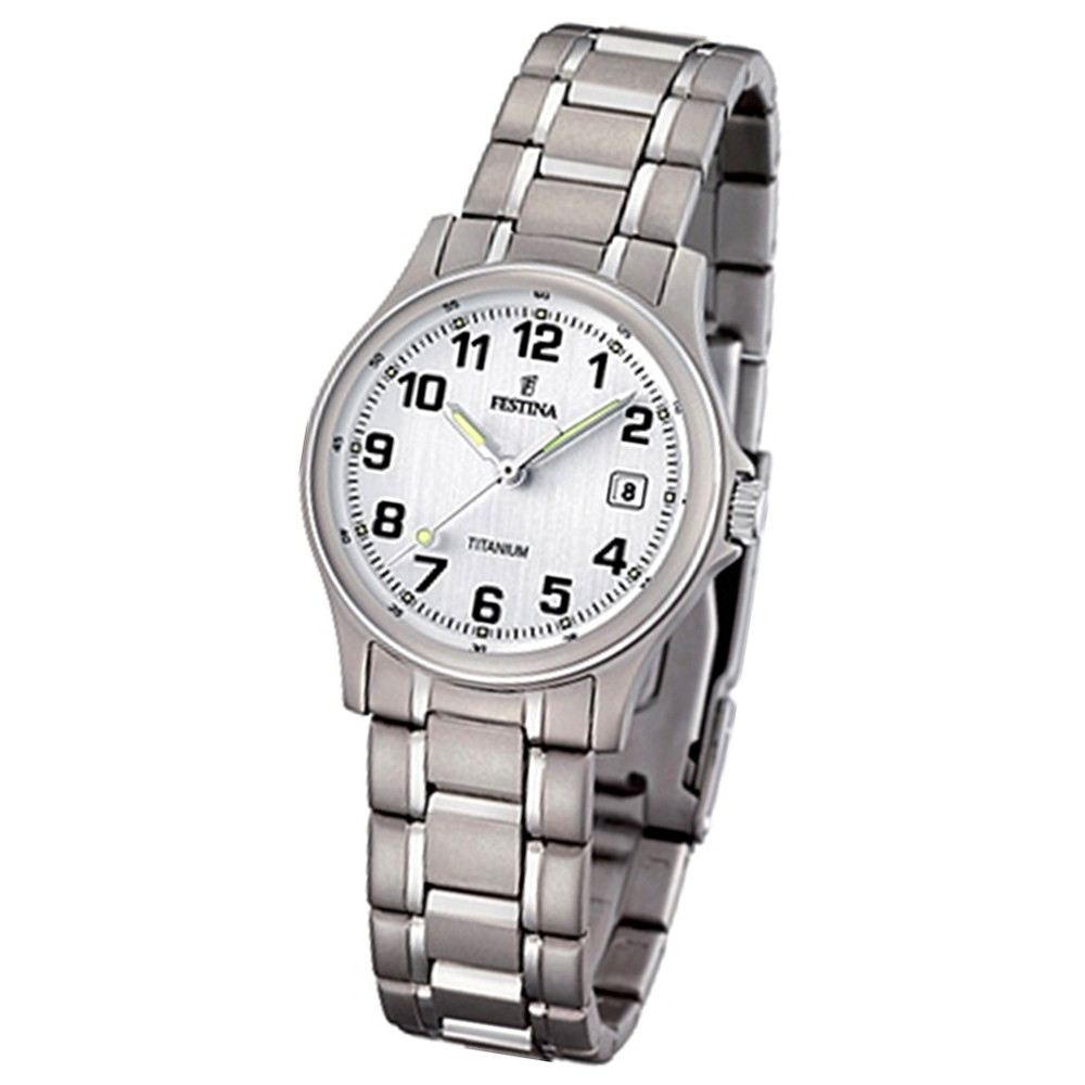 FESTINA Damen-Armbanduhr analog Quarz Titan UF16459/1