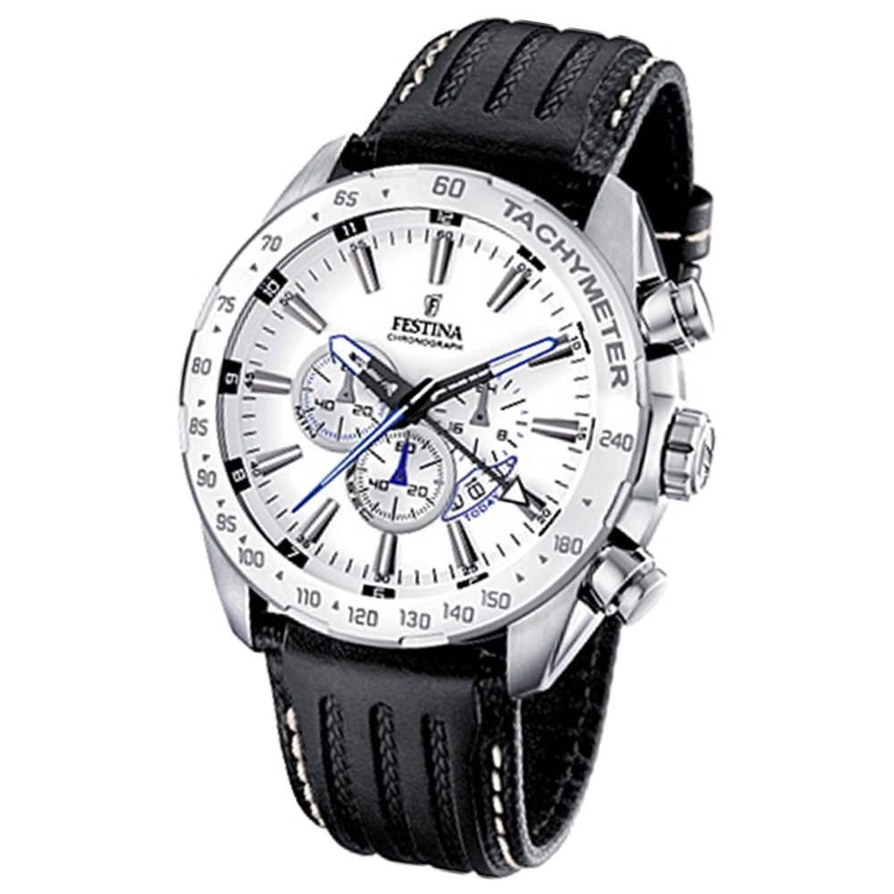 FESTINA Herrenuhr Chrono Sport Uhren weiß Chronograph UF16489/1