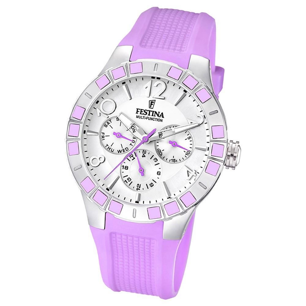 FESTINA Damen-Armbanduhr analog Quarz PU UF16675/2